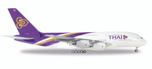 "Herpa Thai Airways Airbus A380-800 HS-TUD ""Phayuha Khiri"" 1/200"