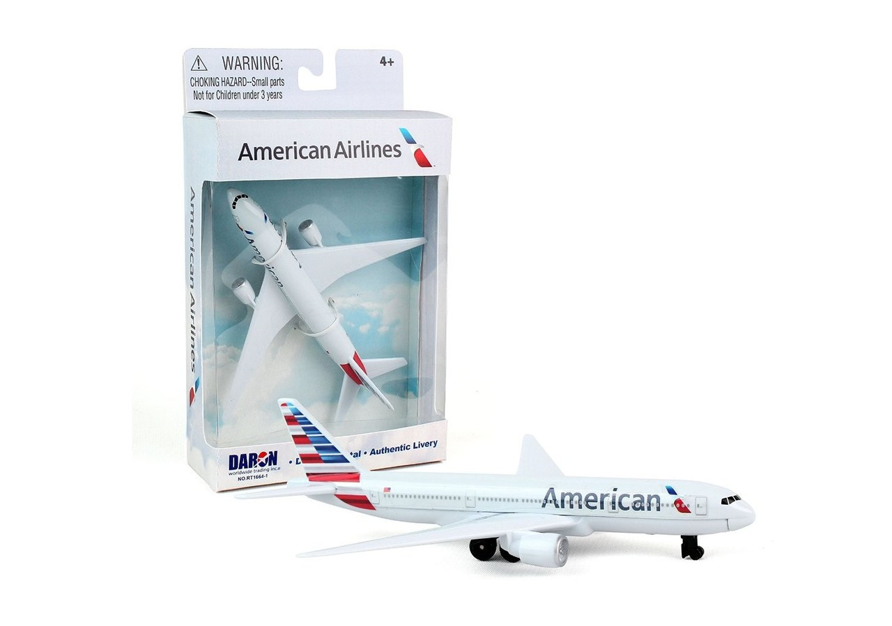 Premier Planes American Airlines Single plane Toy PP-RT1664