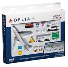 Premier Planes Delta Airlines Airport Playset PP-RT4991