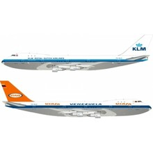 Inflight200 VIASA KLM Boeing 747-200 PH-BUG 1/200 IF7420217A