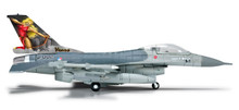 "Herpa Royal Netherlands Air Force, Lockheed Martin F-16AM Fight. Falcon, 323rd ""Diana 65th"" 1/200"