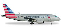 Herpa American Airlines Airbus A319 - N8001N 1/500