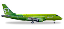 Herpa S7 Airlines Embraer E170 - new colors - VQ-BBO 1/500