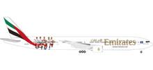 "Herpa Emirates Boeing 777-300ER ""Hamburger SV"" - A6-EPS 1/500"
