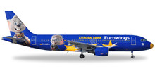 "Herpa Eurowings Airbus A320 ""Europa-Park"" - D-ABDQ 1/200"
