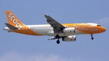 JC Wings Scoot Airbus A320 9V-TAZ 1/200 XX2187