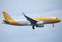 JC Wings Scoot Airbus A320 9V-TRN 1/200 XX4722