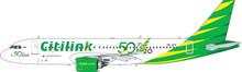 Phoenix Citilink Airbus A320Neo '50th A320' PK-GTF 1/400