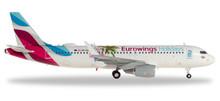 """Herpa Eurowings Europe Airbus A320 """"Eurowings Holidays"""" - OE-IQD 1/200 559157"""