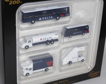 GeminiJets Delta ground service equipment, trucks 1/200 G2DAL720