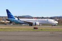 JC Wings Garuda Indonesia Boeing 737-8MAX PK-GDA 1/200 XX2064