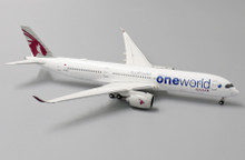 "JC Wings Qatar Airways Airbus A350-900XWB A7-ALZ ""OneWorld"" 1/400 XX4047"