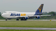 JFox Atlas Air Boeing 747-400 N464MC 1/200