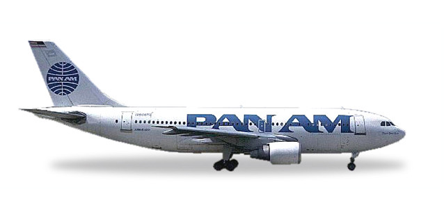 Herpa Pan Am Airbus A310-200 - 25 YEARS Herpa Wings Edition