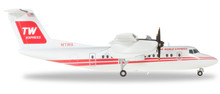 "Herpa Trans World Express De Havilland Canada DHC-7 ""Dash 7"" - N173RA 1/200"
