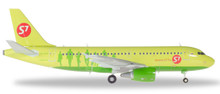 Herpa S7 Airlines Airbus A319 - VP-BHQ 1/200