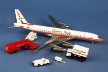 Western Models Canadian Pacific Douglas DC8-51 CF-CPJ + ground equipment 1/200