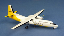 "Western Models Northeast Fairchild FH-227 N378NE ""Delta"" 1/200"