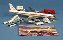 Western Trans Trans Canada Air Lines Douglas DC8-54 CF-TJL + GSE 1/200