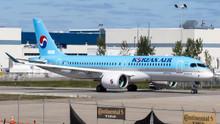 JC Wings Korean Air Bombardier CSeries CS300 HL8092 1/200