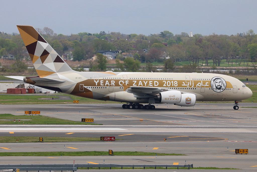 JC Wings Etihad Airways Airbus A380