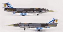 """HobbyMaster Luftwaffe F-104G Starfighter 20+62 JG.32 """"Bavaria"""" 1/72"""