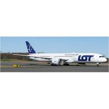 JC Wings LOT Polish Boeing 787-9 SP-LSA 1/200 XX2136
