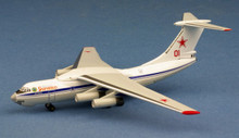 WittyWings Russian Air Force Ilyushin IL-76MD Red 1/400