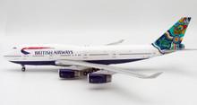 Blue Box British Airways Boeing 747-400 'Nalanji Dreaming' G-BNLN  1/200
