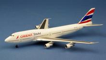 WittyWings Orient Thai Airlines Boeing 747-346 HS-UTV 1/400