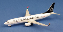 "WittyWings South African Airways ""Star Alliance"" Boeing 737-800 ZS-SJV 1/400"