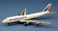 WittyWings Transaero Airlines Boeing 747-400 VQ-BHW 1/400