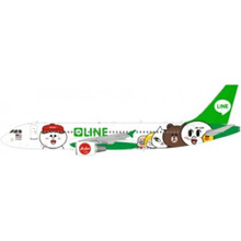 JFox AirAsia Airbus A320 9M-AHR Line Friends Livery 1/200