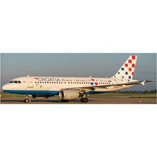 JC Wings Croatia Airlines Airbus A319 Bravo Vatreni Livery 9A-CTL 1/200