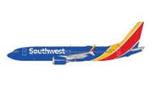 GeminiJets Southwest Boeing 737 MAX-8 N8706W 1/400 GJSWA1811