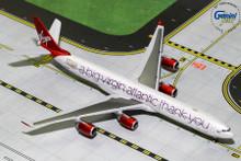 "GeminiJets Virgin Atlantic Airbus A340-600 ""A Big Thank You"" G-VNAP 1/400 GJVIR1766"