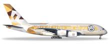 "Herpa Etihad Airways Airbus A380 ""Year of Zayed"" 1/500"