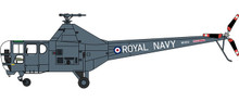 Herpa Westland Dragonfly - Royal Navy, WH991, York- shire Air Museum 1/72