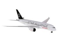 Hogan Air India Boeing 787-8 Star Alliance Ground Configuration 1/200