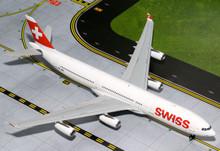 GeminiJets Swiss Airbus A340-300 1/200 G2SWR382