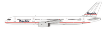 NG Models Republic Airlines Boeing 757-200 N602RC Classic color 1/400