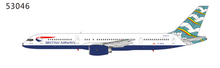 "NG Models British Airways Boeing 757-200 G-BIKA ""Blue Poole"" 1/400"
