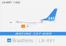 Panda Models SAS Braathens Boeing 737-600 LN-RRY 1/400 BOX18020