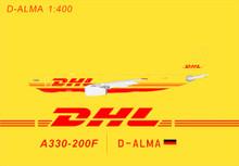Panda Models DHL Airbus A330-200F D-ALMA 1/400 BOX18025