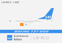 Panda Models SAS Sigfrid Viking Boeing 737-600 LN-RCU 1/400 BOX18022