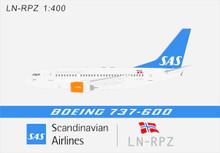 Panda Models SAS Bera Viking Boeing 737-600 LN-RPZ 1/400 BOX18021
