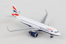 Herpa British Airways Airbus A320neo 1/500