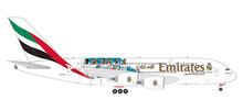 "Herpa Emirates Airbus A380 ""Real Madrid (2018)"" 1/200"