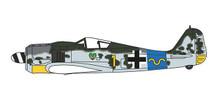 Herpa Focke Wulf 190A - 15/JG 54, Hauptmann Rudolf Klemm 1/72