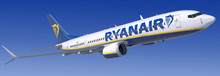 JC Wings Ryanair Boeing 737-8Max EI-HAT 1/200